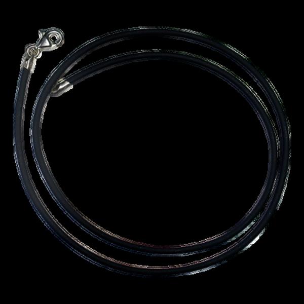 Cordon Noir en Caoutchouc 400mm