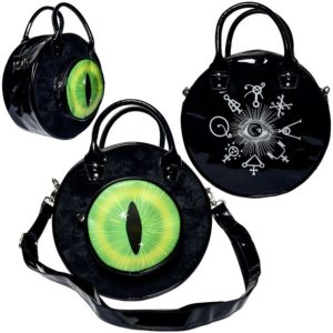 Sac à Main Eyeball Black Cat