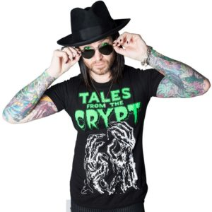 T-shirt Tales from the Crypt Phosphorescent