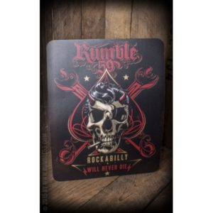 Tapis de Souris Rockabilly Will Never Die