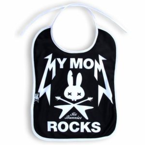 Bavoir My Mom Rocks