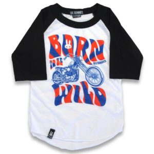 Raglan Born to be Wild Enfant