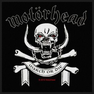 Patch Motörhead March Or Die