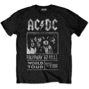 T-shirt AC-DC Highway to Hell World Tour
