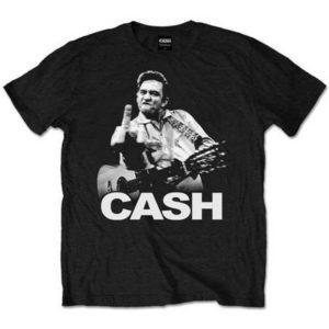 T-shirt Johnny Cash Finger