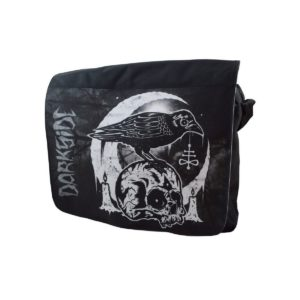 sac besace skull crow