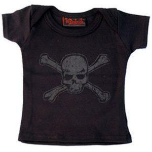 t-shirt bébé distressed skull