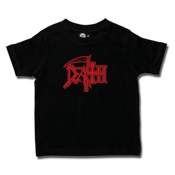 T-shirt Enfant Death Logo Design
