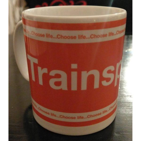 mug trainspotting logo