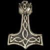 pendentif thor en bronze