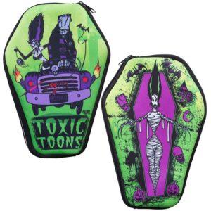 trousse cercueil toxic toons