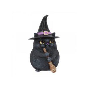 figurine chat sorcier