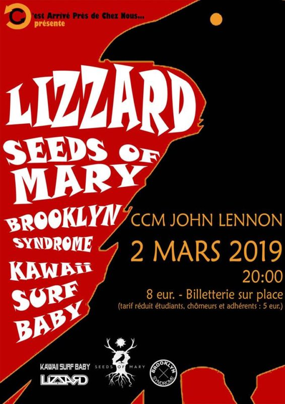 LizZard Seeds of Mary