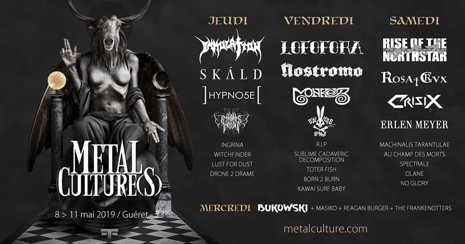Festival Metal Culture(s) IX - 2019