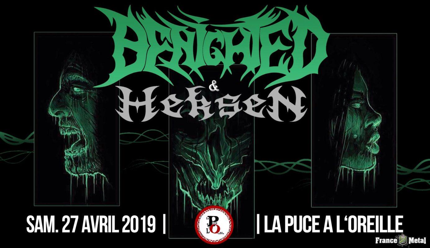 Benighted + Heksen | La Puce à L'Oreille 63