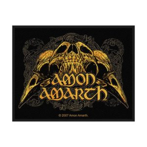 Patch Amon Amarth Raven Skull
