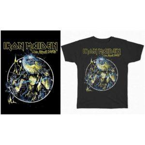 T-shirt Iron Maiden Live after Death