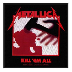 Patch Metallica Kill Em All