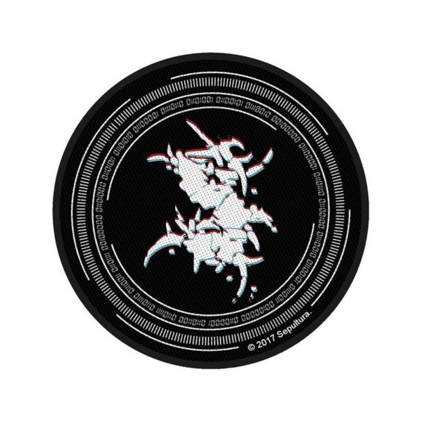 Patch Sepultura Binary Circular