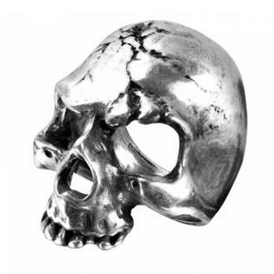 Bague Crâne Macabre en Etain