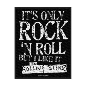 Patch Rolling Stones It's only Rock'n'Roll Licence Officielle
